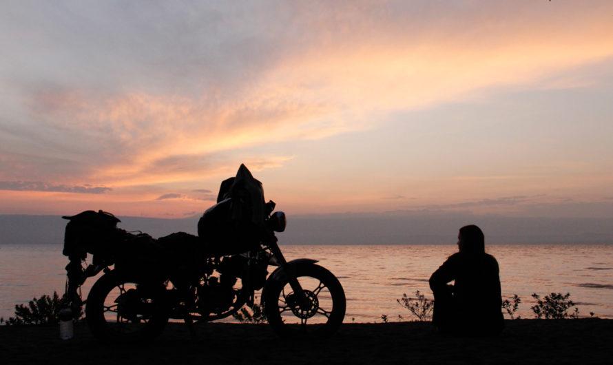 Sunrise at Lake Langano