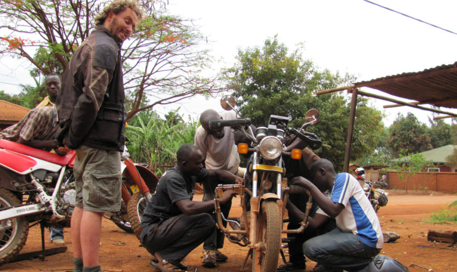Getting some local assistance in Kasulu