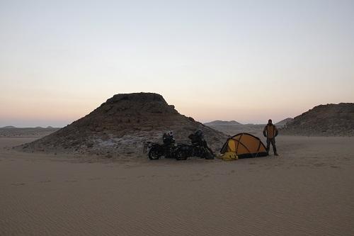 Last campsite