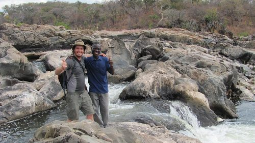 Tracking crocodiles with Juma